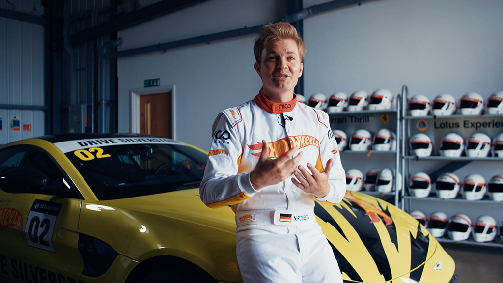 Video Production at Silverstone Racecourse with Nico Rosberg & Hot Wheels.